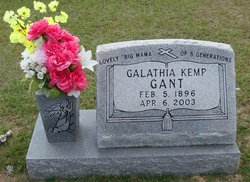 Galathia <I>Kemp</I> Gant