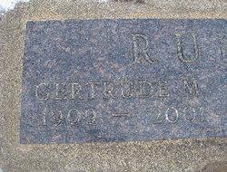 "Gertrude Mayola ""Gert"" <I>Beals</I> Rude"
