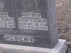 Sophie E <I>Krueger</I> Albert