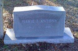 Marie L. <I>Speckels</I> Antony