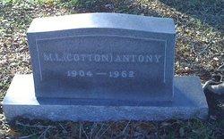 """Moses Leon """"Cotton"""" Antony"""
