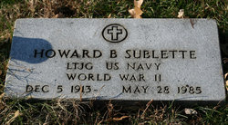 Howard B Sublette