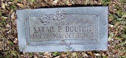 Sarah P Douthit