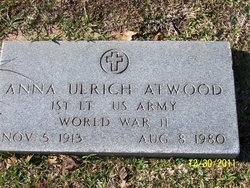 Anna <I>Ulrich</I> Atwood