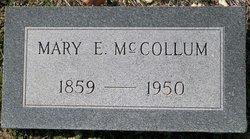 Mary Elizabeth Hun <I>Enis</I> McCollum