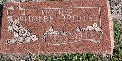 Phoebe <I>Conley Smith</I> Brooks