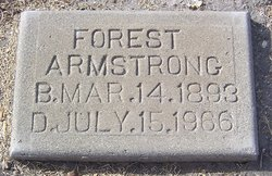 "DeForest Willard ""Forest"" Armstrong"