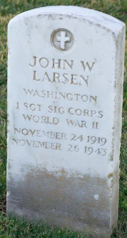 SGT John W. Larsen