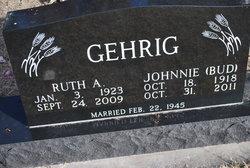 Ruth Agnes <I>Pohlenz</I> Gehrig