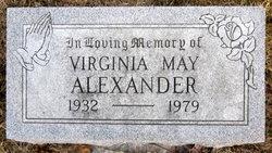 Virginia May <I>Hildebrand</I> Alexander