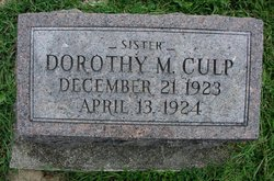 Dorothy May Culp