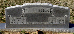 Lucy Cathrine Billings