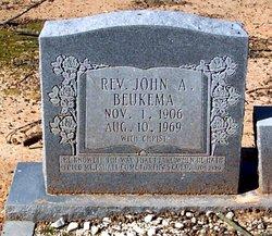Rev John Arthur Beukema