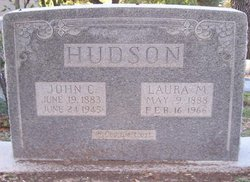 Laura M <I>Richardson</I> Hudson