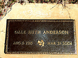Dale Ruth Anderson