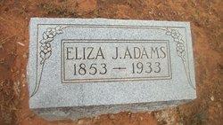 Eliza J <I>Gentry</I> Adams