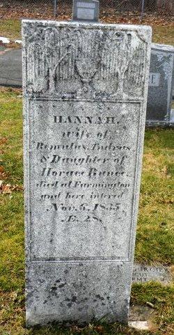 Hannah <I>Bunce</I> Andrus