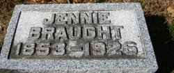 "Euphemia Jane ""Jennie"" <I>Sharp</I> Braught"