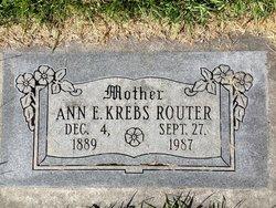 Ann Erma <I>Stauffer</I> Router