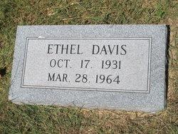 Ethel Louise <I>Marley</I> Davis