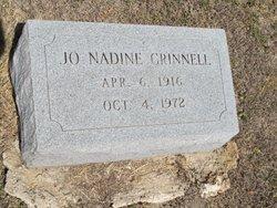 Jo Nadine <I>Riney</I> Grinnell