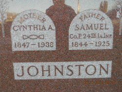 Cynthia Anna <I>Yeisley</I> Johnston