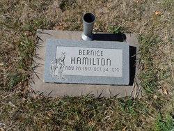"Edith Bernice ""Bernice"" <I>Ford</I> Hamilton"