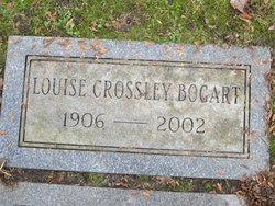 Louise <I>Crossley</I> Bogart