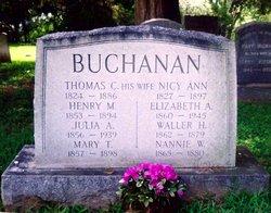 Waller Holiday Buchanan