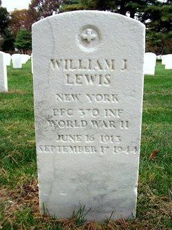 PFC William J Lewis