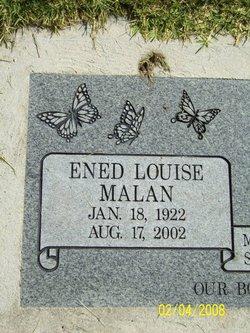 Ened <I>Malan</I> Allen