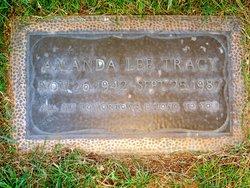 Amanda Lee <I>Erickson</I> Tracy