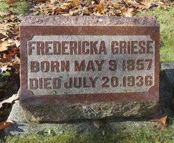 Fredericka C <I>Buenzow</I> Griese
