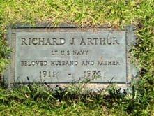 Lieut Richard John Arthur