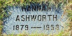 Hannah <I>Bagley</I> Ashworth