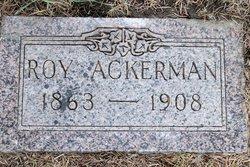 """Calvin Leroy """"Roy"""" Ackerman"""