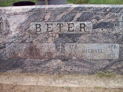 Anna <I>Gerber</I> Romig/Beter