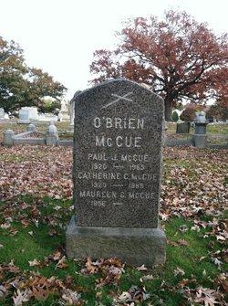 Catherine C McCue