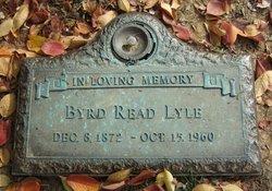 Byrd <I>Read</I> Lyle