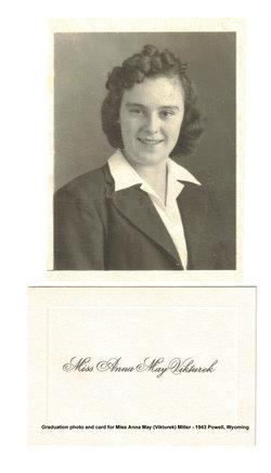 Anna May <I>Vikturek</I> Miller