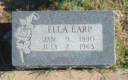Ella Bertha <I>Fisher</I> Earp