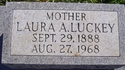 Laura A <I>Luckey</I> Deeds