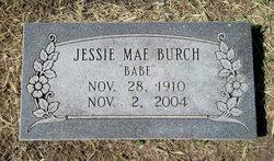 Jessie Babe Mae Burch