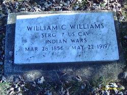 Sgt William Carson Williams Jr.