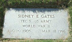 Sidney E Gates