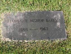 Florence <I>Bishop</I> Baker