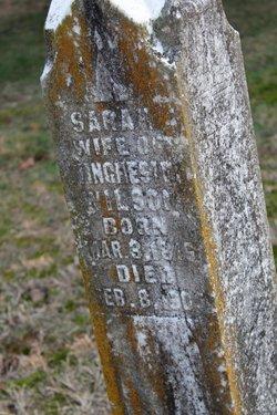 Mrs Sarah Jane <I>Garner</I> Wilson