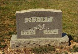 Ruby Irene <I>Williams</I> Moore