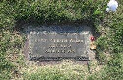 Lutie <I>Creath</I> Allen