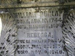 Rebecca <I>Robertson</I> Dunlap